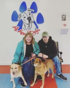All About Dogs Foster Dogs Marley  & Tootsie